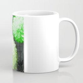 Neon Dahlias Coffee Mug