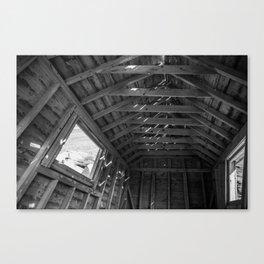 Chimney Corner Engine House - Cape Breton Canvas Print