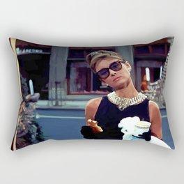 Audrey Hepburn #3 @ Breakfast at Tiffany's Rectangular Pillow