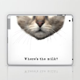 Where's the milk? Laptop & iPad Skin