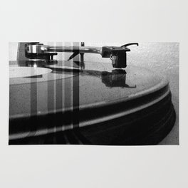 Turntable Retro Rug