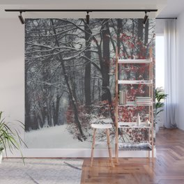 Winter Day Wall Mural
