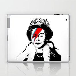 Banksy space queen Laptop & iPad Skin
