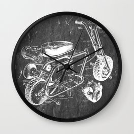 Mini Bike Wall Clock