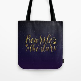 Rewrite the Stars - The Greatest Showman Tote Bag
