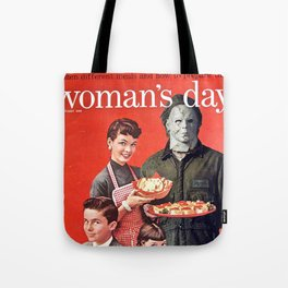 Michael Myers as Good Father Tote Bag