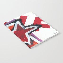 Grafitti Star Notebook