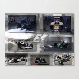F1 Collection Canvas Print