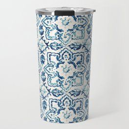 Azulejo IV - Portuguese hand painted tiles Travel Mug