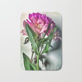 A Flower Bouquet Bath Mat