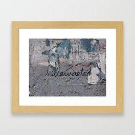Hellawasted Framed Art Print