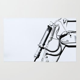 Arm of Bleach Industrial Digger Rug