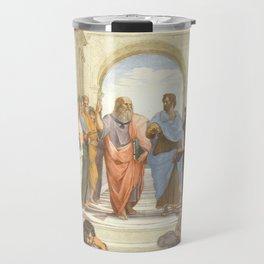 Raphael - The School of Athens Travel Mug