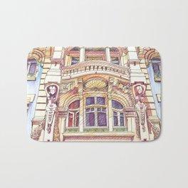 architecture.avenida duque d'ávila.lisbon Bath Mat