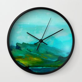 The Laughing Brook Wall Clock