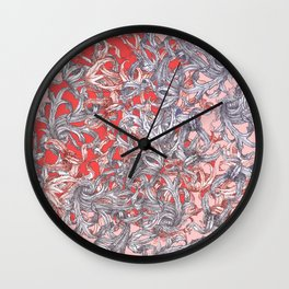 'A world of made is not a world of born' Wall Clock