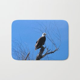 Clear Sight (Bald Eagle) Bath Mat