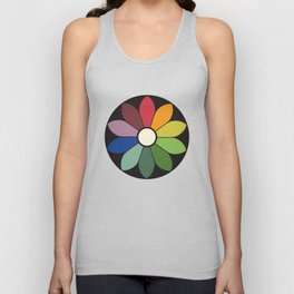 James Ward's Chromatic Circle Unisex Tank Top
