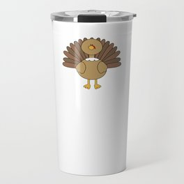 Save a Turkey Eat Pizza This Year Thanksgiving T-Shirt Travel Mug