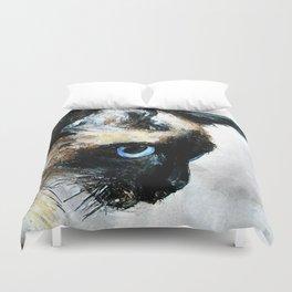 Siamese Cat Duvet Cover