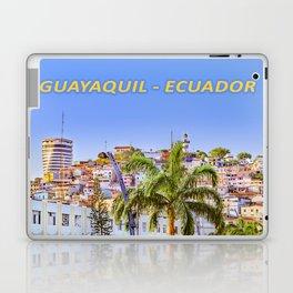 Santa Ana Hill, Guayaquil Poster Print Laptop & iPad Skin
