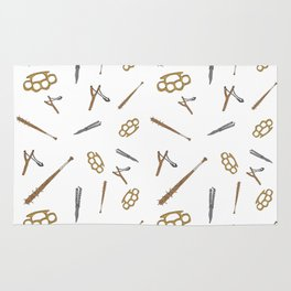 Weapons Pattern Rug