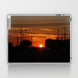 Sunset LBI Laptop & iPad Skin