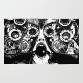asc 712 - Le masque de la Méduse (Object woman) Rug