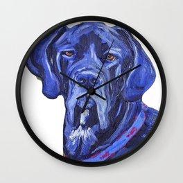 Sampson 2 Wall Clock