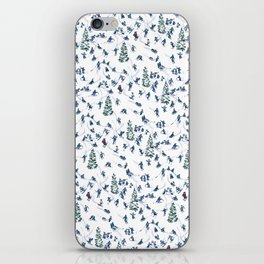 Let's Go Skiing! – Xmas Edition iPhone Skin
