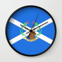 Clan Fraser Wall Clock