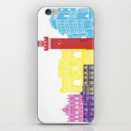 Cuenca skyline pop iPhone Skin