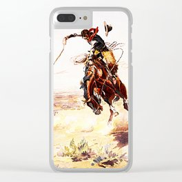 A Bad Hoss Clear iPhone Case