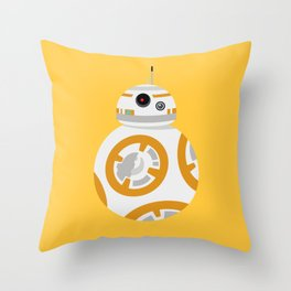 """BB-8 - """"Bleep Bop Bleeb"""" Throw Pillow"""