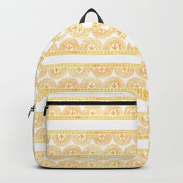 Gold Lace Backpack