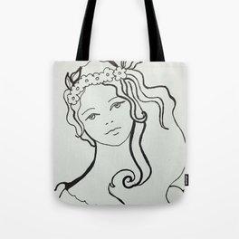 Adorable Girl Tote Bag