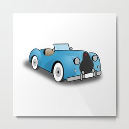 Alvis TB 14 Roadster Metal Print