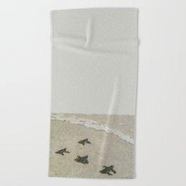 The Journey Begins by Teresa Thompson Beach Towel