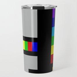 Daft minimal pixel Travel Mug