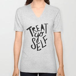 Halloween Treat Yo Self Unisex V-Neck