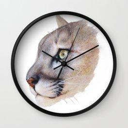 Ares Cougar Wall Clock
