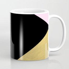 Color Block Glam Triangles Coffee Mug