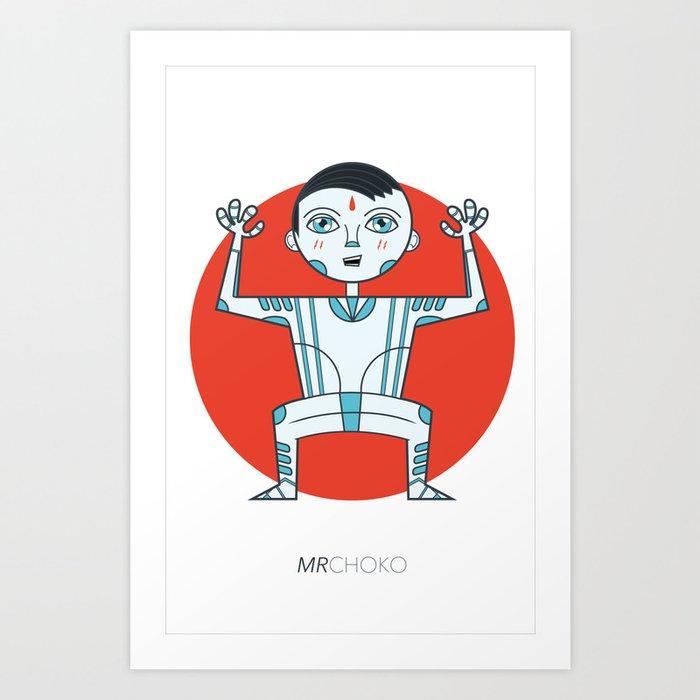 niño etnico Art Print