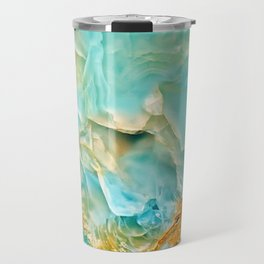 Onyx - blue and orange Travel Mug