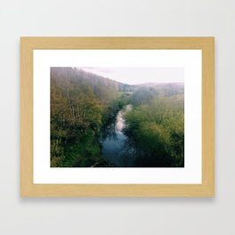 park in Ireland Framed Art Print