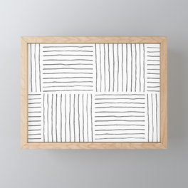 Stripes Framed Mini Art Print
