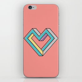 le coeur impossible (nº 2) iPhone Skin