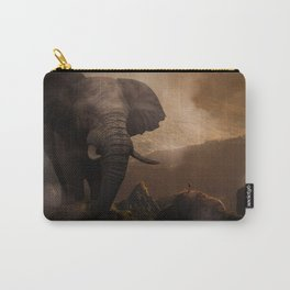 The Famous Giant Elephant by GEN Z Carry-All Pouch