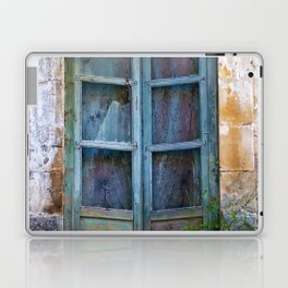 Abandoned Sicilian House in Noto Laptop & iPad Skin