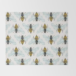Honey Bee Throw Blanket